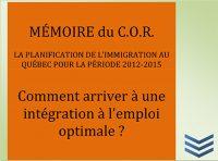 Mémoire planification 2012-2015